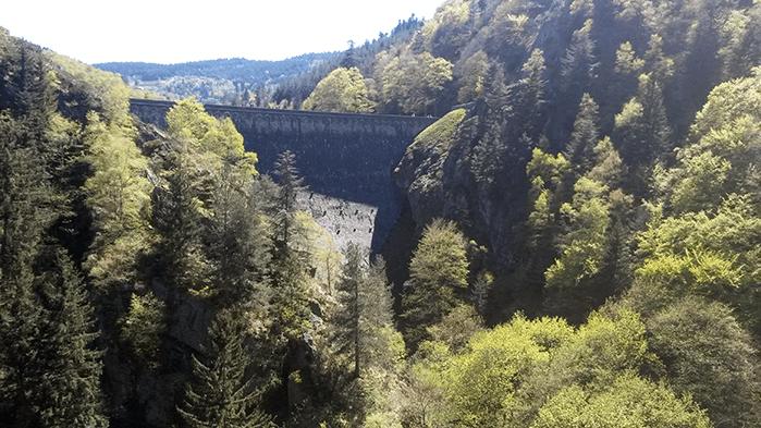Barrage du Gouffre d'Enfer - Planfoy