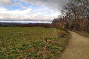 Chemin sur parcours 12 km - Les foulées de la Ligue 2019 - Saint-Victor-sur-Loire