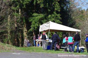 Ravitaillement randonnée pédestre des Piqueurs - Saint-Jean-des-Ollières - Édition 2019 - Parcours 11 km
