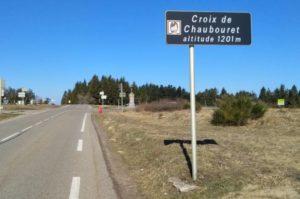 Col de la Croix de Chaubouret au Bessat