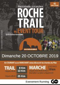 Trail de Rochetaillée 2019 - Parcours 8 - 13 et 25 km + marche 8 km