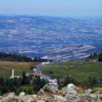 La Jasserie du Pilat vue depuis le Crêt de la Perdrix à 1430 mètres d'altitude