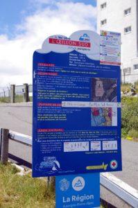 Site de vol libre de parapente du Pilat - Oeillon Sud
