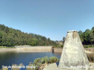 Autour du barrage du Pas du Riot à Planfoy