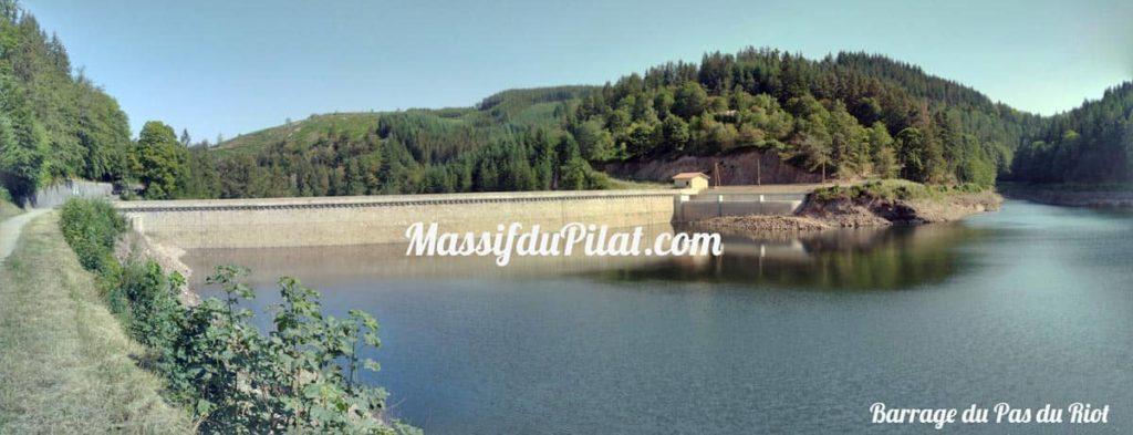 Balade Tour du barrage du Pas du Riot de Planfoy