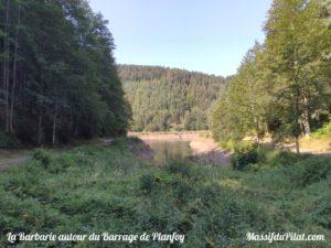La Barbarie, barrage de Planfoy