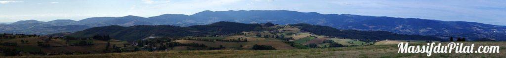 Panorama du Massif du Pilat