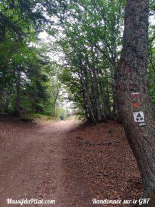 Randonnée sur le GR7 depuis Chaubouret
