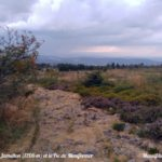 Vue sur Jametton (1206 m) et le Pic de Montformer depuis le Crêt de la Perdrix