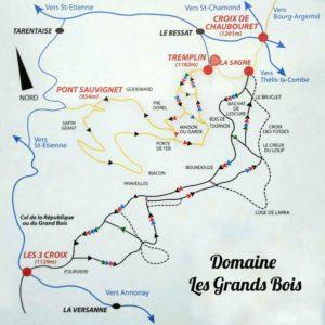 Domaine Les Grands Bois à Le Bessat dans le Pilat (42)