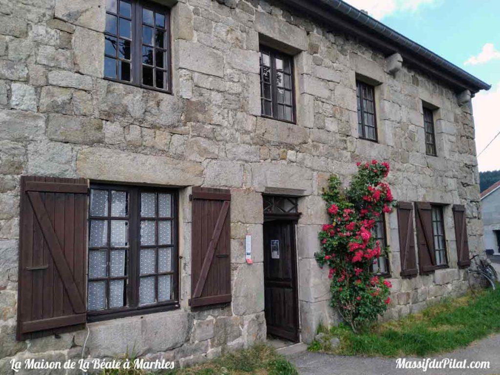 Maison de la Béate à Marlhes dans le Massif du Pilat