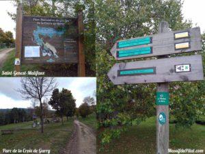 Parc de la Croix de Garry à Saint-Genest-Malifaux