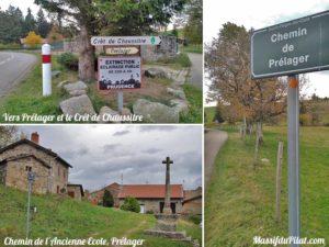 Prélager à Saint-Régis-du-Coin près du Crêt de Chaussitre