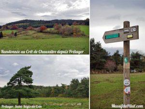 Randonnée au Crêt de Chaussitre depuis Prélager à Saint-Régis-du-Coin