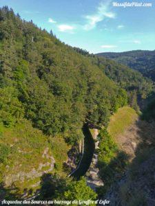 Acqueduc des Sources à Rochetaillée près du barrage du Gouffre d'Enfer