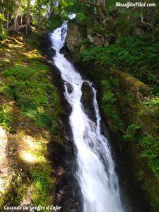 Cacscade du Gouffre d'Enfer à Rochetaillée près du barrage du Gouffre d'Enfer