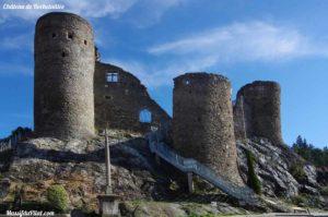 Château de Rochetaillée dans le Pilat près de Saint-Etienne (42)
