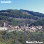 Village de Rochetaillée dans le Pilat près de Saint-Etienne (42)