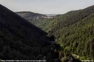 Vue sur le village de Rochetaillée et la vallée du Furna (Gouffre d'Enfer)