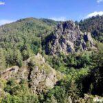 Rocher d'escalade de La Roche Corbière